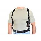 Кобура синтетическая плечевая/поясная без скобы, [019] Black, фото 2