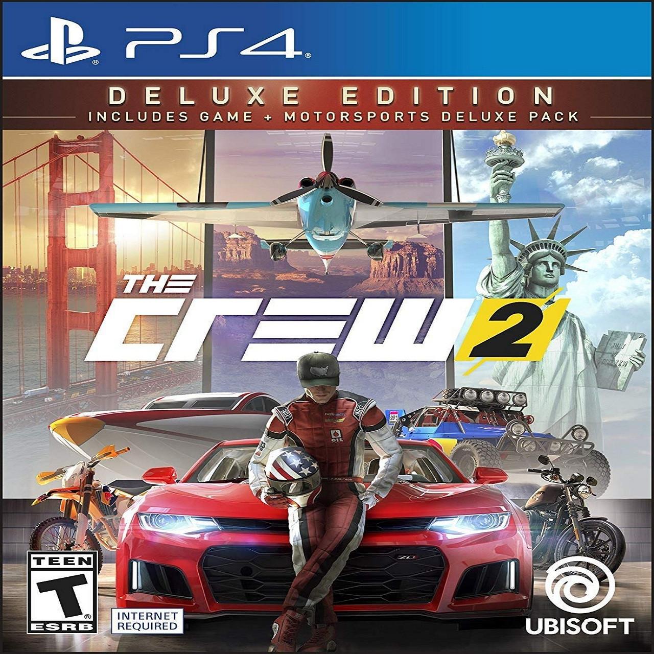 The Crew 2 Delux Edition (російські субтитри) PS4