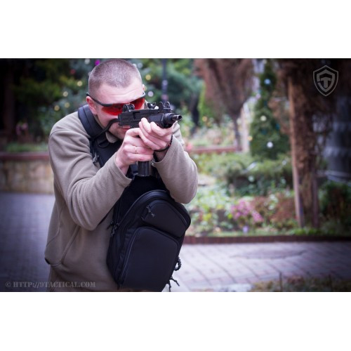 """Оперативная тактическая сумка """"9TACTICAL SLING LQB"""", [029] Grey"""