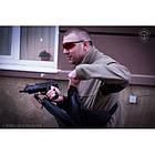 "Оперативная тактическая сумка ""9TACTICAL SLING LQB"", [029] Grey, фото 2"