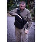 "Оперативная тактическая сумка ""9TACTICAL SLING LQB"", [029] Grey, фото 3"