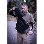 "Оперативная тактическая сумка ""9TACTICAL SLING LQB"", [029] Grey, фото 4"
