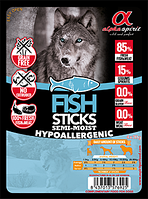 Лакомство для собак Alpha Spirit Sticks Fish 40 г х 30 шт