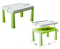 Детский стол с насадкой для аэрохоккея цвета разные