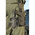 "Адаптер для кобуры ""5.11 Tactical ThumbDrive Drop and Offset Kit"", [019] Black, фото 2"