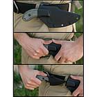 "Нож ""TOPS KNIVES Wolf Pup XL"", [019] Black, фото 5"