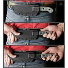 "Нож ""TOPS KNIVES Tom Brown Tracker 2"", [019] Black, фото 2"