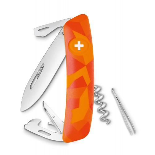 Нож Swiza C03, orange urban, [999] Multi