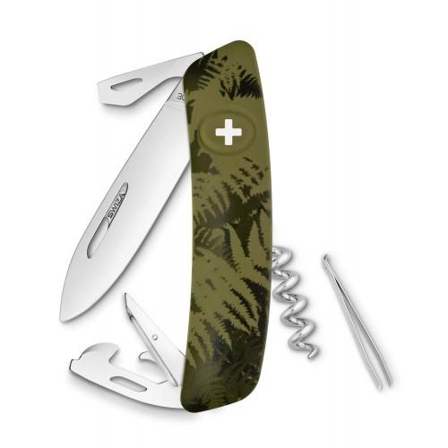 Нож Swiza C03, olive fern, [999] Multi
