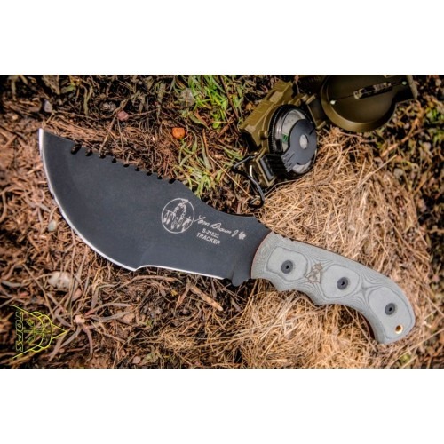 "Нож ""TOPS KNIVES Tom Brown Tracker 1"", [029] Grey"