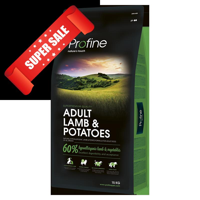 Сухой корм для собак Profine Adult Lamb & Potatoes 15 кг