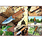 """Нож """"TOPS KNIVES CUB Compact Utility Knife Fixed"""", [108] Brown, фото 6"""