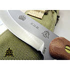 """Нож """"TOPS KNIVES CUB Compact Utility Knife Fixed"""", [108] Brown, фото 7"""