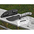 """Нож """"TOPS KNIVES Tom Brown Tracker 1 with RMT handles"""", [029] Grey, фото 5"""