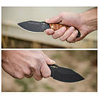 "Нож ""TOPS KNIVES Shadow Rider"", [116] Battle Brown, фото 3"