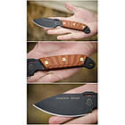 "Нож ""TOPS KNIVES Shadow Rider"", [116] Battle Brown, фото 4"