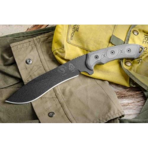"Нож ""TOPS Knives Dart Fixed Blade Knife 5160 Steel"", [019] Black"