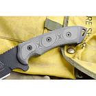 "Нож ""TOPS Knives Dart Fixed Blade Knife 5160 Steel"", [019] Black, фото 3"