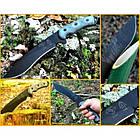 "Нож ""TOPS Knives Dart Fixed Blade Knife 5160 Steel"", [019] Black, фото 6"