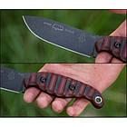 "Нож ""TOPS Knives Viper Scout Red"", [1145] Чёрный/красный, фото 2"