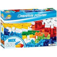 Конструктор Cobi Набор кубиков Creative Power, 650 деталей (5902251206512)
