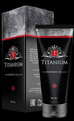 Titanium - Гель для підвищення потенції (Тітаніум), фото 2