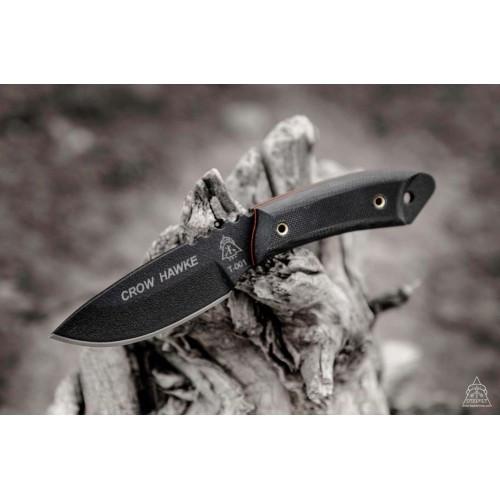 "Нож ""TOPS KNIVES Crow Hawke"", [019] Black"