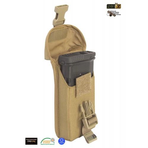 """Подсумок одинарный магазинов снайперской винтовки M.U.B.S.""""SRSMP-308/20""""(Sniper Rifle Single Mag P.), [1174] Coyote Brown"""