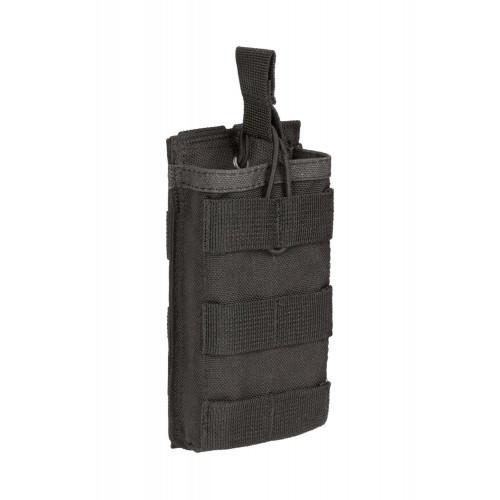 """Подсумок открытый для одного магазина АК/М16 MOLLE """"RMBP-1"""" (Rifle Mag Bunji Pouch), [1149] Combat Black"""