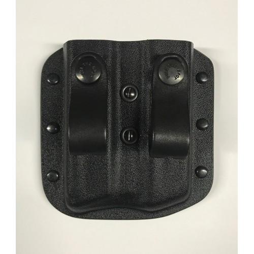 Підсумок пластиковий внутрибрючный для 2 магазинів, [019] Black