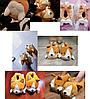 """Тапочки милі і м'які """"Лисиця"""", фото 2"""