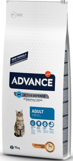 Сухой корм для кошек Advance Adult 1,5 кг