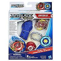 Beyblade Burst Светящийся Бейблейд с пусковым устройством Spryzen S2 Hasbro