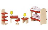 Набор для кукол Мебель для детской комнаты, Goki