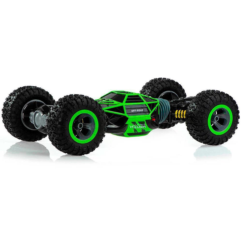 Машинка Leopard King вездеход (перевёртыш) Зеленый