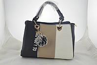 Сумка женская черная эко кожа сумочка, фото 1