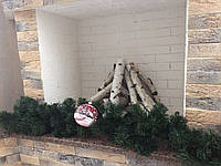 Гірлянда новорічна ялинка, прикраса будинку і офісу