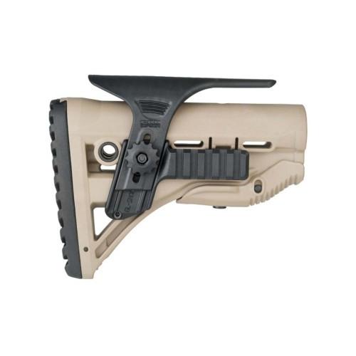 "Щека для приклада ""FAB Defense GSPCP Cheek Rest Kit With Dual Picatinny Rails"", [019] Black"
