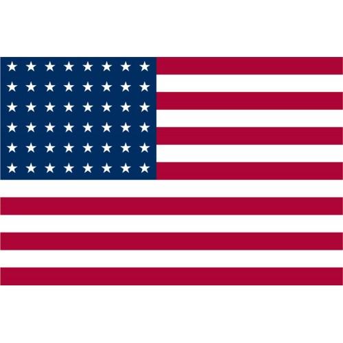 Флаг США (48 звезд), [999] Multi