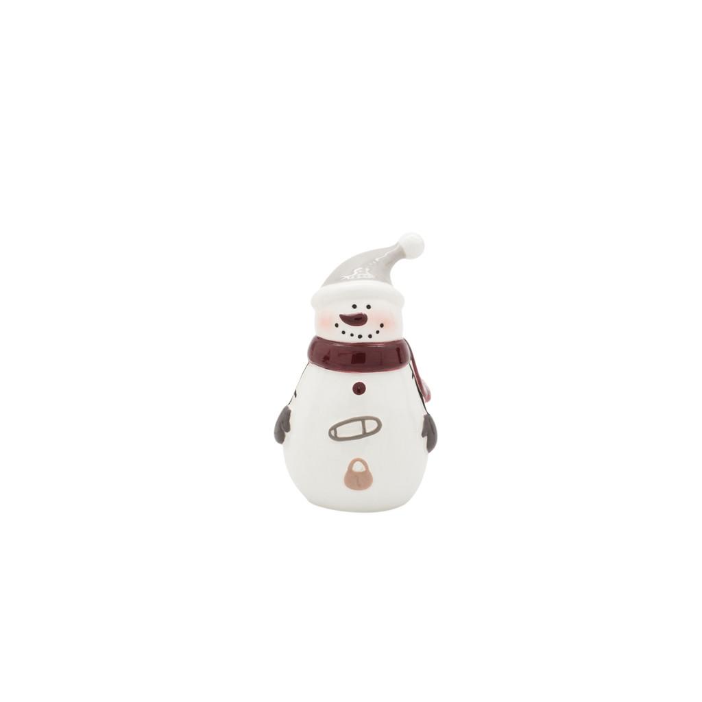 Фигурка Снеговик в колпаке 9см 109016