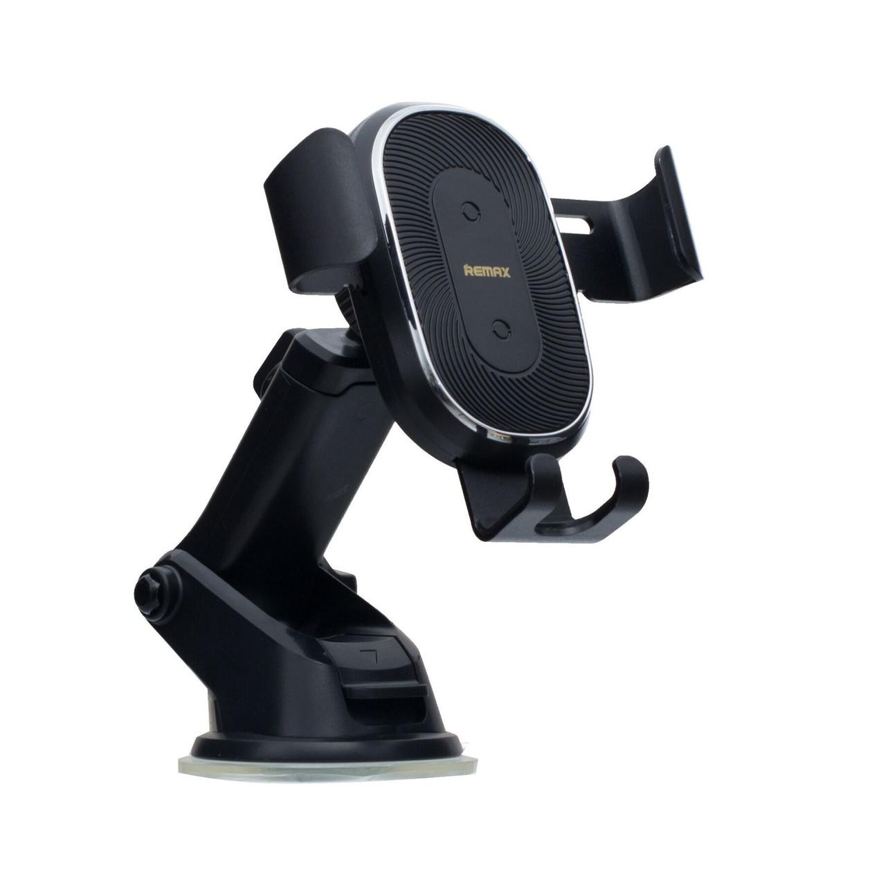Автомобільний універсальний тримач Remax Wireless Charging RM-C37 Black