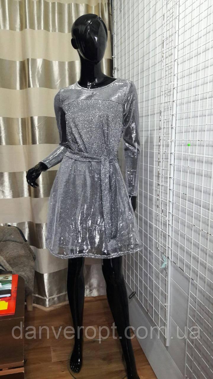 Платье женское стильное размер 42-48 купить оптом со склада 7км Одесса