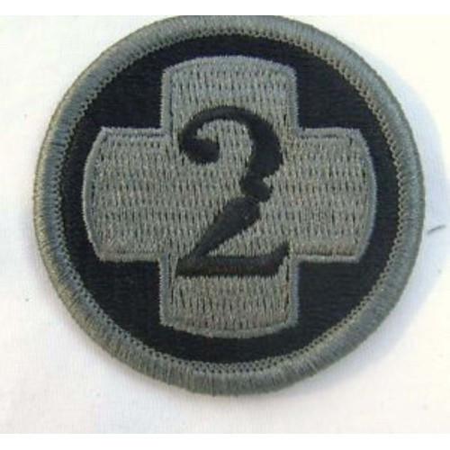 Шеврон US Army 2 med.brig, [999] Multi