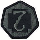 Шеврон US Army 7th Medical Command, [999] Multi, фото 2