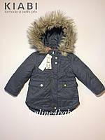 Зимняя куртка парка Kiabi 3in1 System на девочку 2-3 года