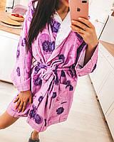 Женский халат натуральный