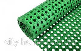 Килимок гумовий сота 100 х 150 х 2,2 см зелений