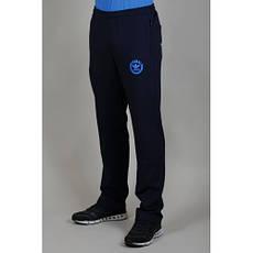 Брюки спортивные Adidas (Blue-red-1)