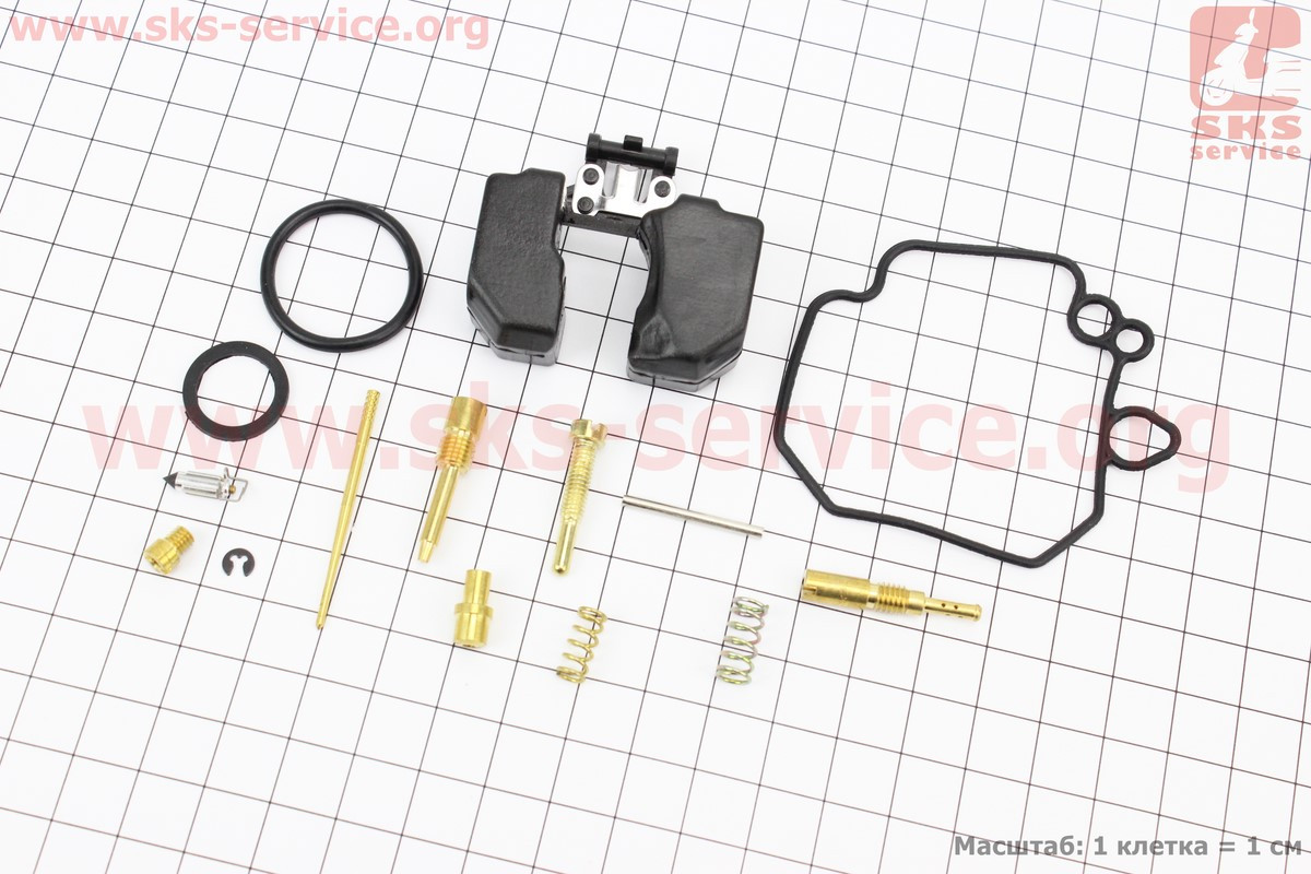 Ремонтний комплект карбюратора Suzuki LETS повний на скутер