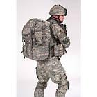 """Рюкзак военный """"USMC MOLLE II Large Rucksack"""" (80 литров), б/у, [1129] Камуфляж AT-DIGITAL, фото 7"""